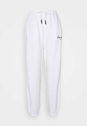 CLASSIC JOGGERS - Verryttelyhousut - white