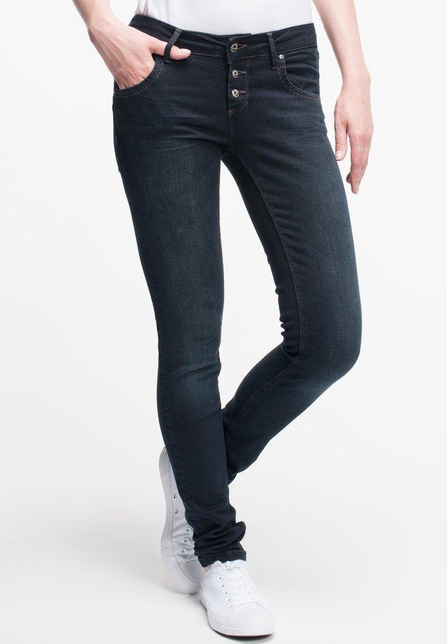 ULLA - Slim fit jeans - schwarz