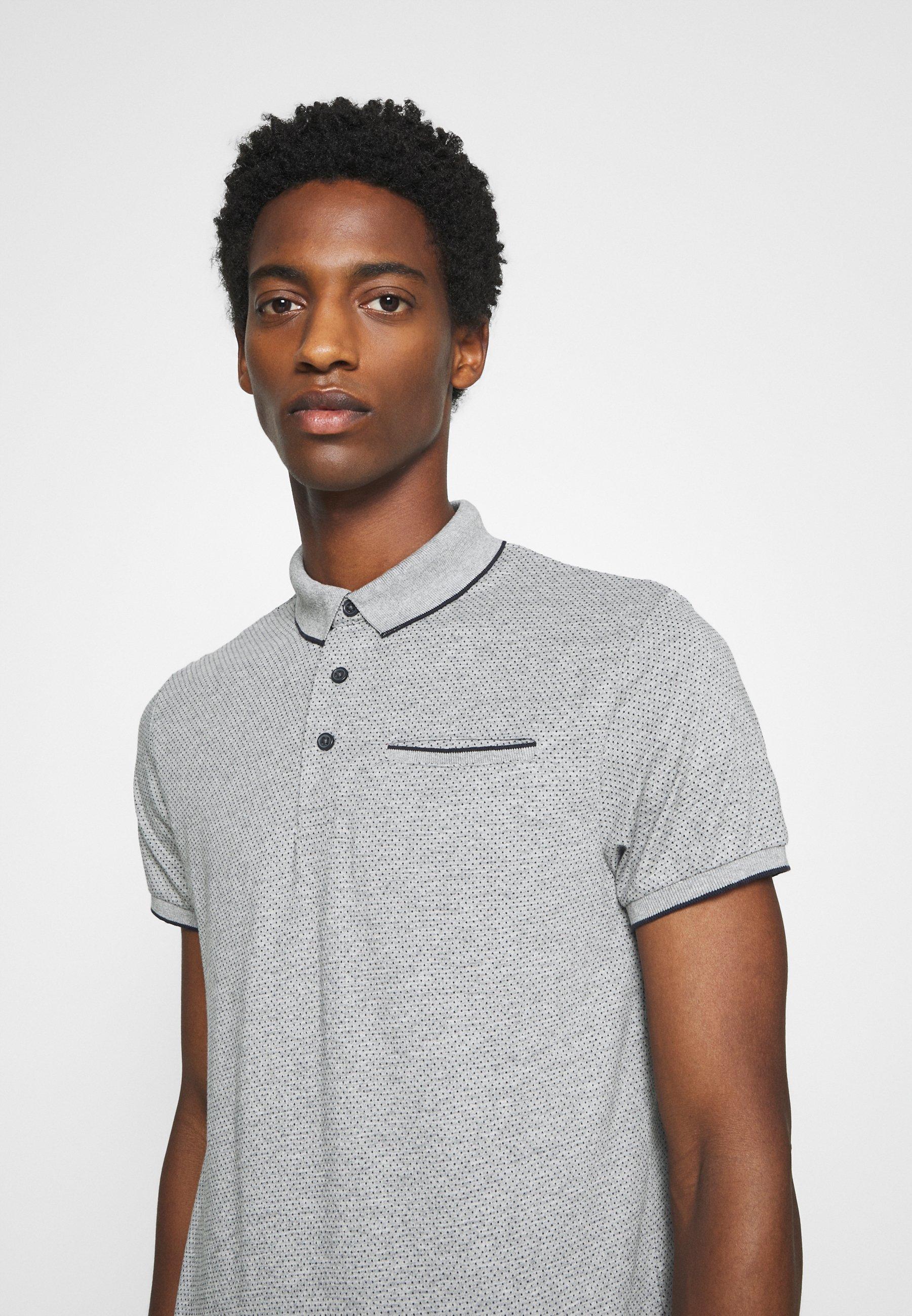 Springfield POCKET - Polo shirt - grey 9Mv3D