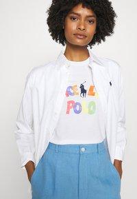 Polo Ralph Lauren - SHORT SLEEVE - Print T-shirt - white - 3