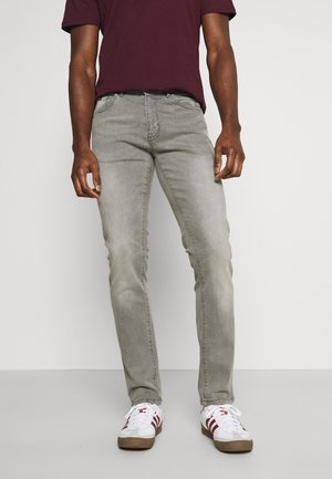 CULPEPER - Straight leg jeans - light grey