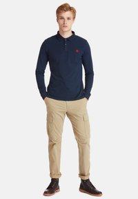 Timberland - LS MILLERS RIVER  - Polo shirt - dark sapphire - 1