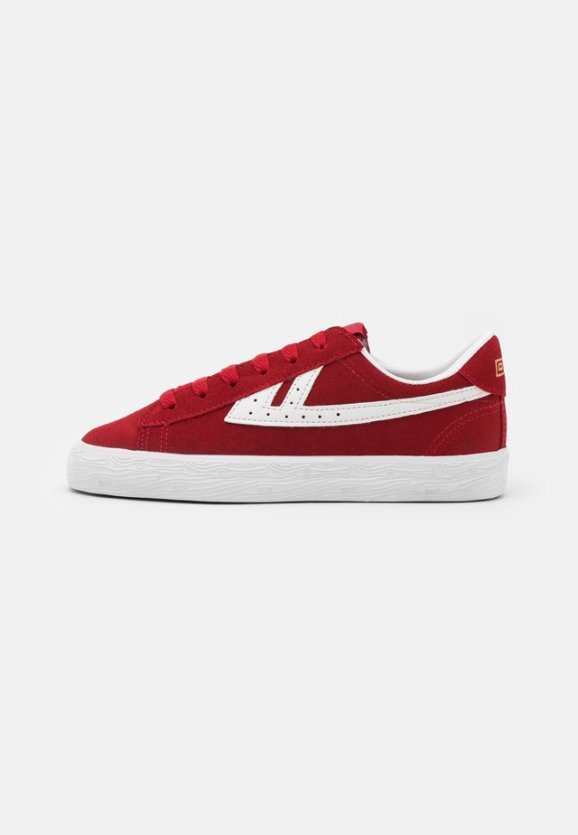 DIME UNISEX - Sneakers laag - red/white