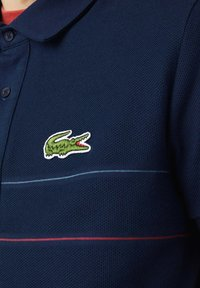 Lacoste - KORTE MOUW - Polo shirt - blau rot weiß - 3