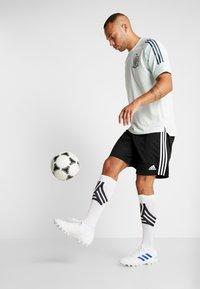 adidas Performance - SPAIN FEF TRAINING SHIRT - Print T-shirt - green - 1