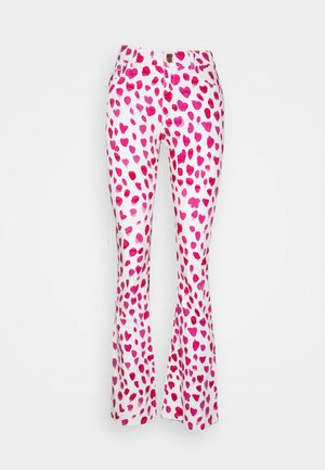 EVA FLARE TROUSERS - Flared Jeans - happy leopard