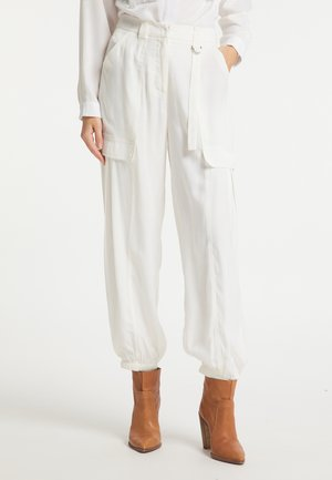 Cargo trousers - weiss
