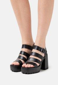 Emmshu - DITA - Platform sandals - black - 0
