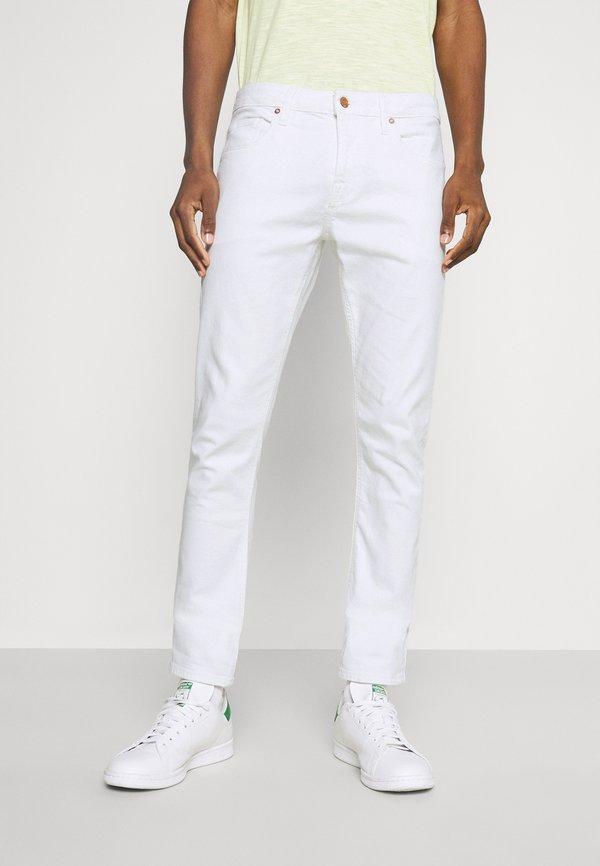 Guess CHRIS - Jeansy Slim Fit - true white/biały Odzież Męska JLBP