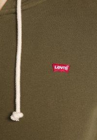 Levi's® - NEW ORIGINAL ZIP UP - Felpa con zip - olive night - 5