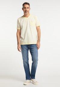 Pioneer Authentic Jeans - RANDO - Straight leg jeans - stone blue denim - 1