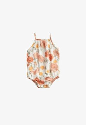 Jumpsuit - white, orange