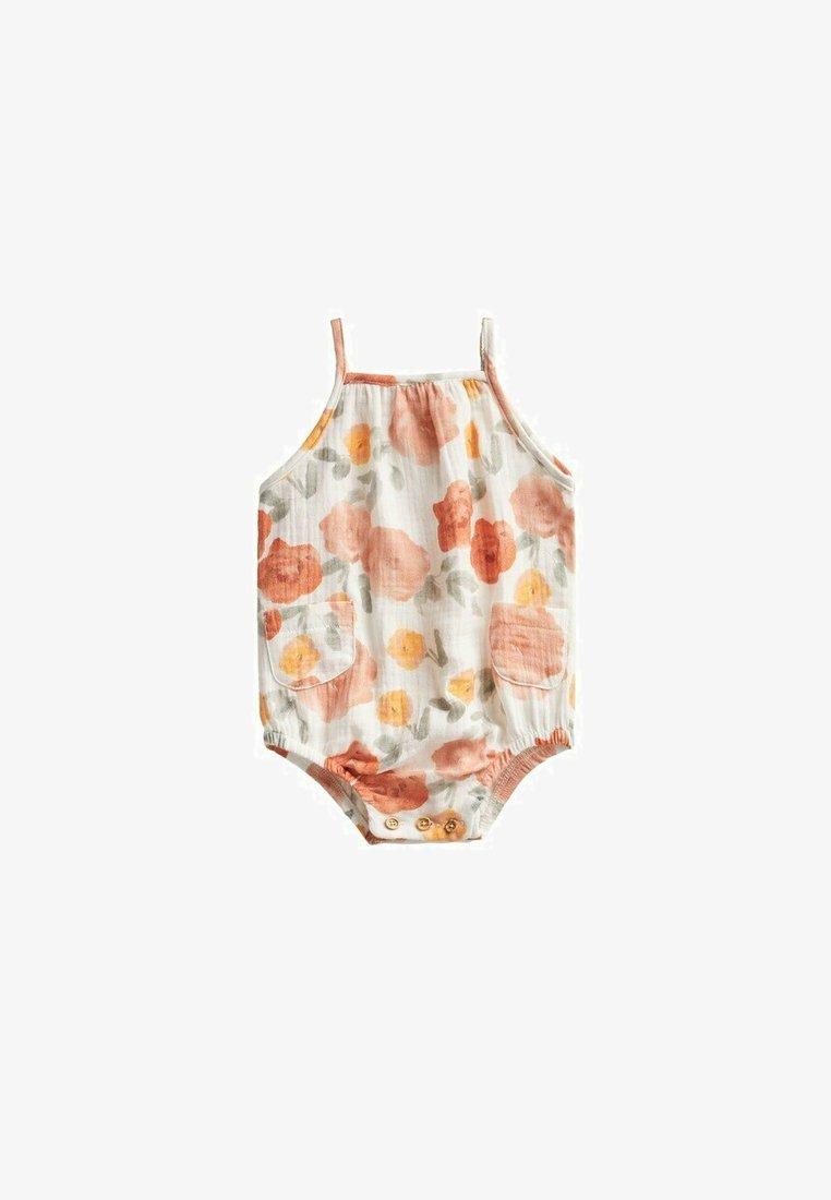 Mango - Jumpsuit - white, orange