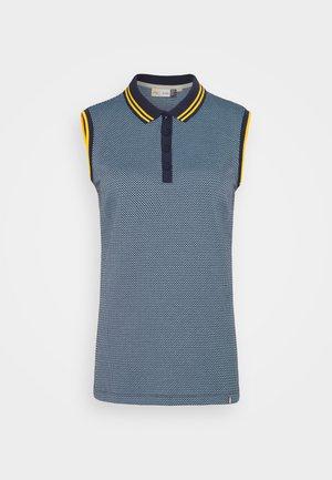 WOMEN ELLA STRUCTURE - Polo shirt - atalanta blue/cloud blue