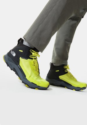 M VECTIV EXPLORIS MID FUTURELIGHT - Hikingsko - sulphurspringgn/tnfblack