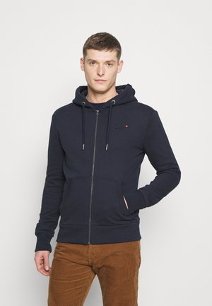 CLASSIC ZIPHOOD - Collegetakki - rich navy
