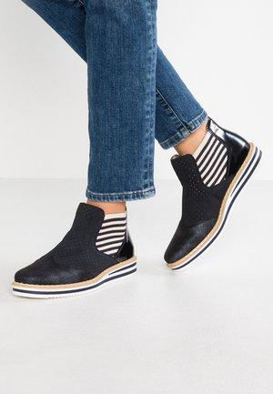 Ankle boots - nightblue/pazifik/marine/beige/navy