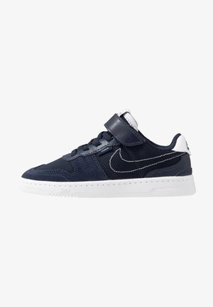 SQUASH-TYPE UNISEX - Sneakers basse - obsidian/midnight navy/white