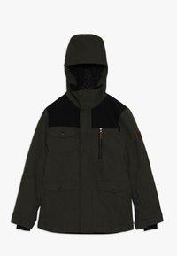 Quiksilver - RAFT YOUTH  - Snowboardová bunda - grape leaf - 0