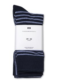 WE Fashion - 5 PACK - Socks - navy blue - 1