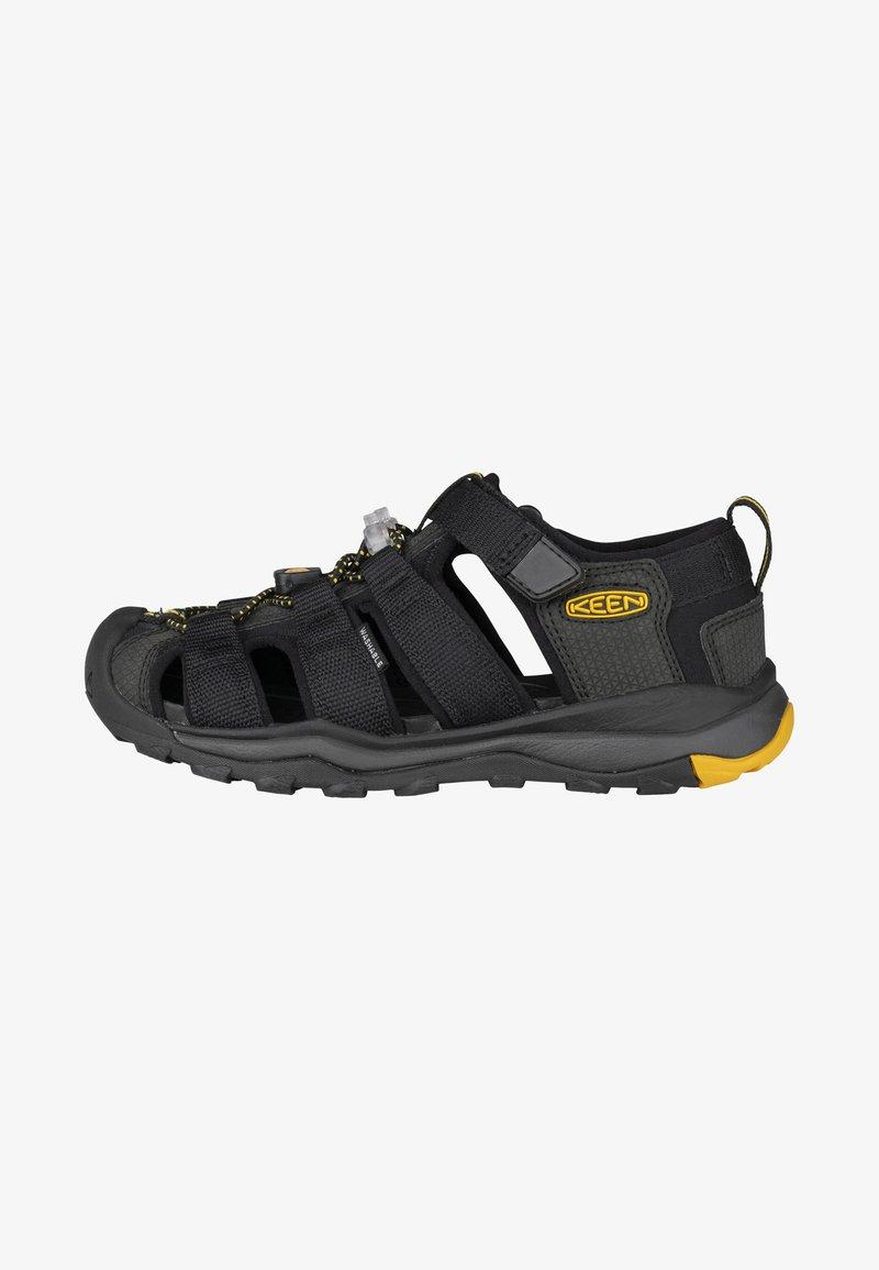 Keen - Outdoorsandalen - black/keen yellow