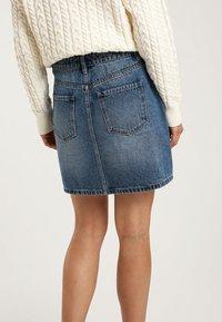 Pimkie - A-line skirt - blue denim - 2
