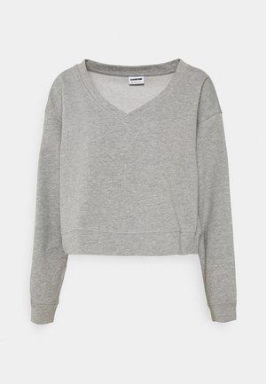 NMAMBI - Sweatshirt - light grey melange