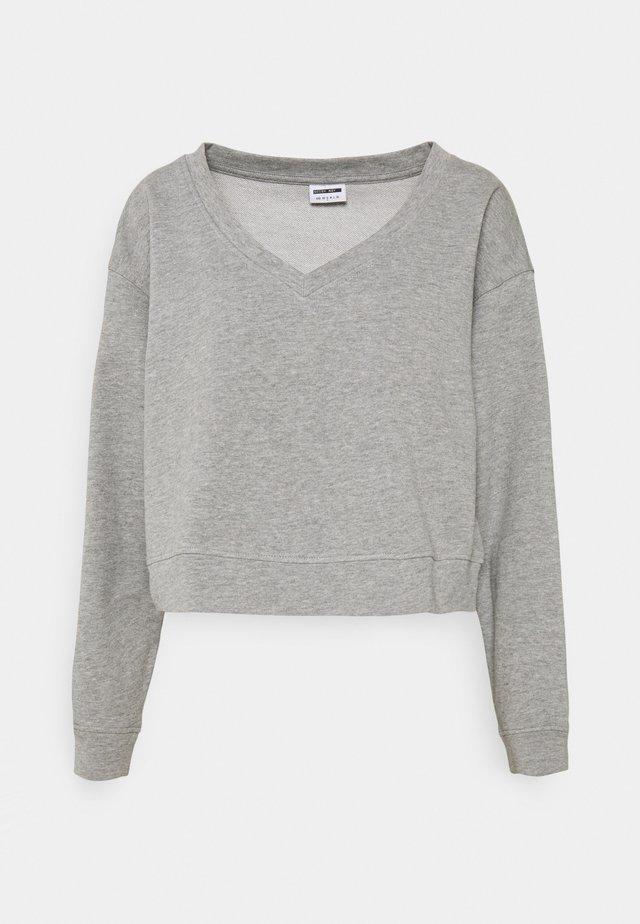 NMAMBI - Sweater - light grey melange