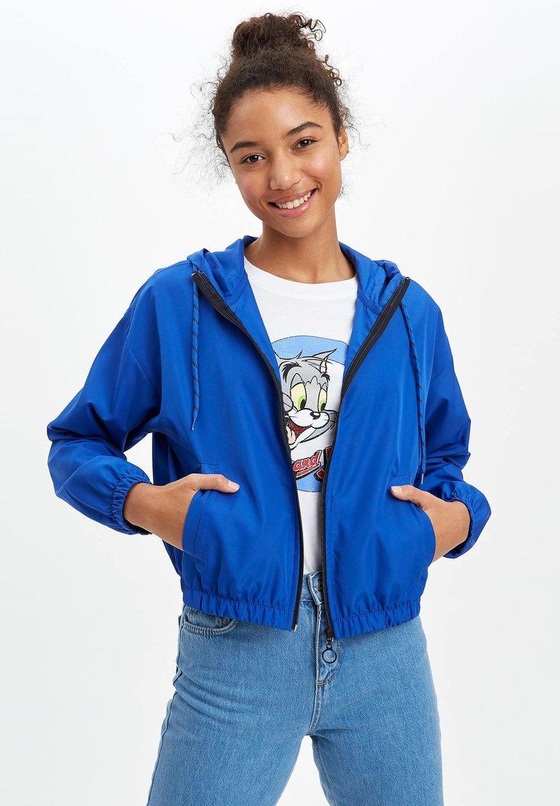 DeFacto - Light jacket - turquoise