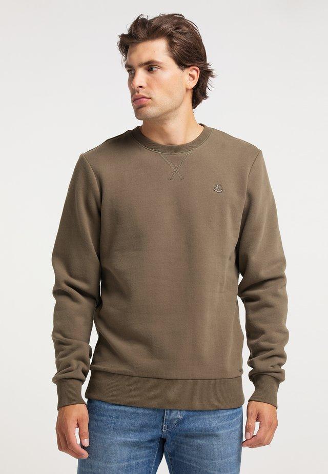 Sweater - militär oliv