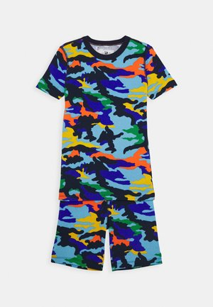 SLEEP SET - Pyžamová sada - flashy camo blue multi