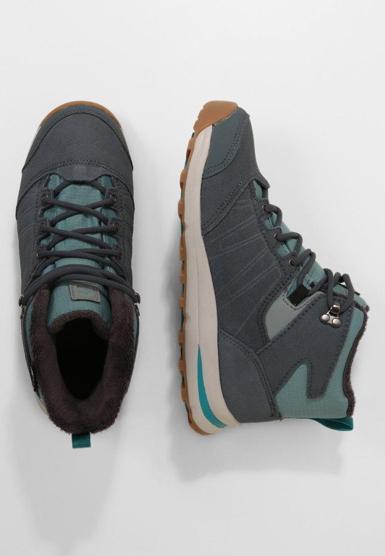 Salomon - UTILITY TS  - Hiking shoes - trellis/stormy weather/tropical green