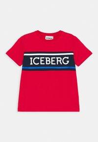 Iceberg - Print T-shirt - red - 0