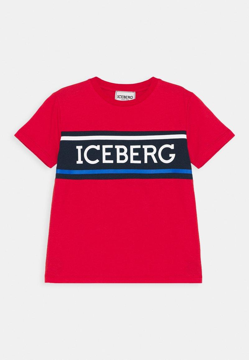 Iceberg - Print T-shirt - red