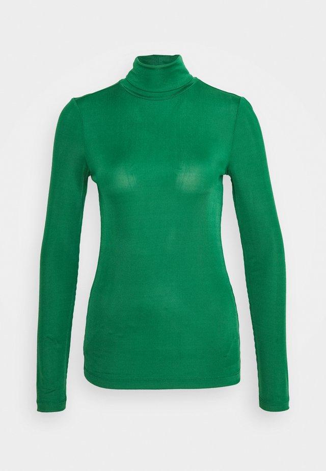 Långärmad tröja - true green