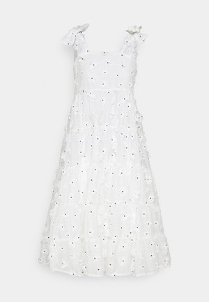 ALMOND BLOSSOM MIDI DRESS - Day dress - ivory