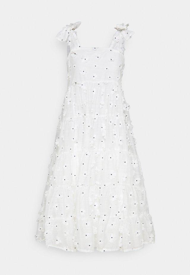 ALMOND BLOSSOM MIDI DRESS - Korte jurk - ivory