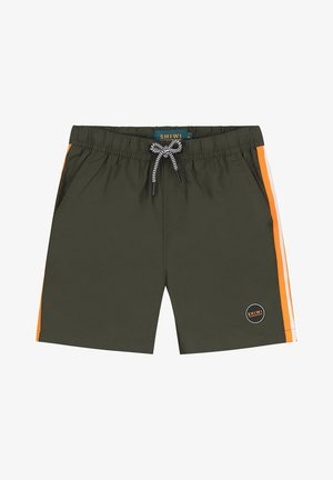 TOM TAPE  - Swimming shorts - army green
