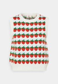 Levi's® - SWEETIE VEST - Pullover - strawberries cloud dancer - 0
