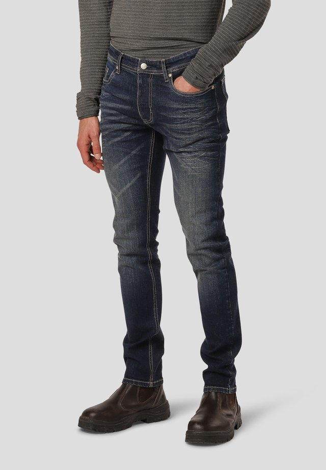 BRICE  - Jeans Slim Fit - montana dark used