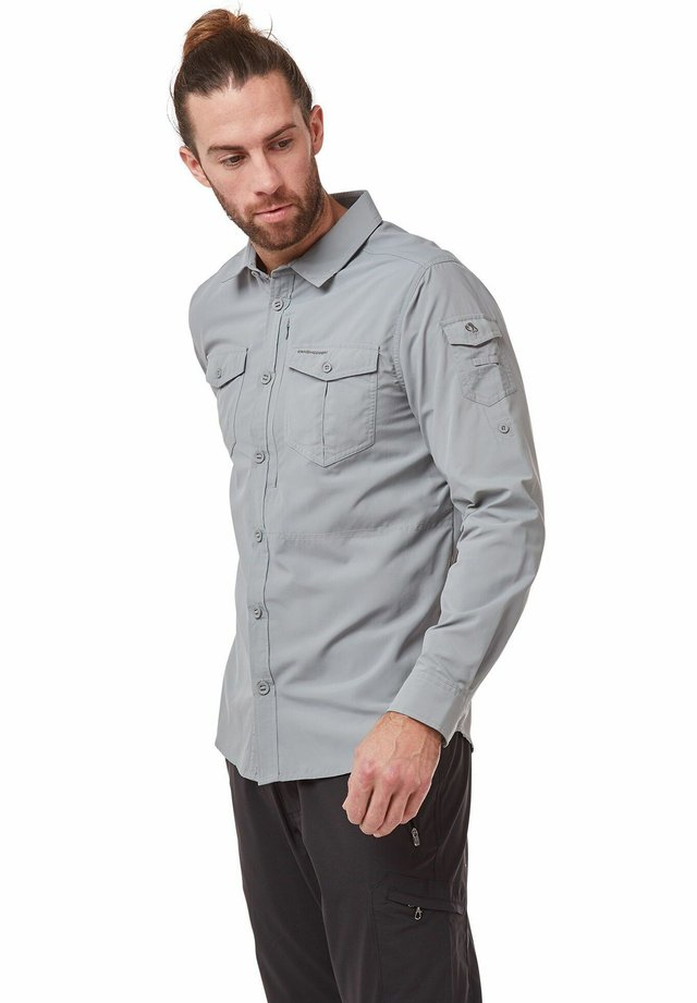 NOSILIFE ADVENTURE LANGARM - Shirt - cloud grey