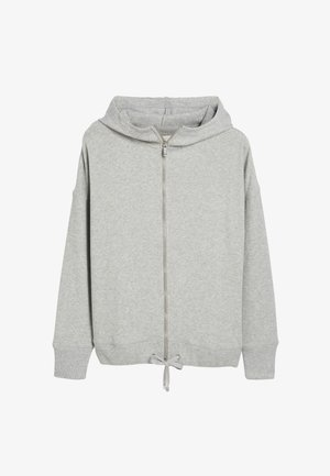 SUPERSOFT - Zip-up hoodie - grey