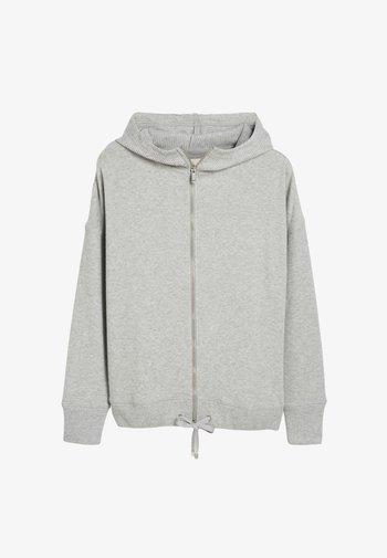 SUPERSOFT - Zip-up sweatshirt - grey