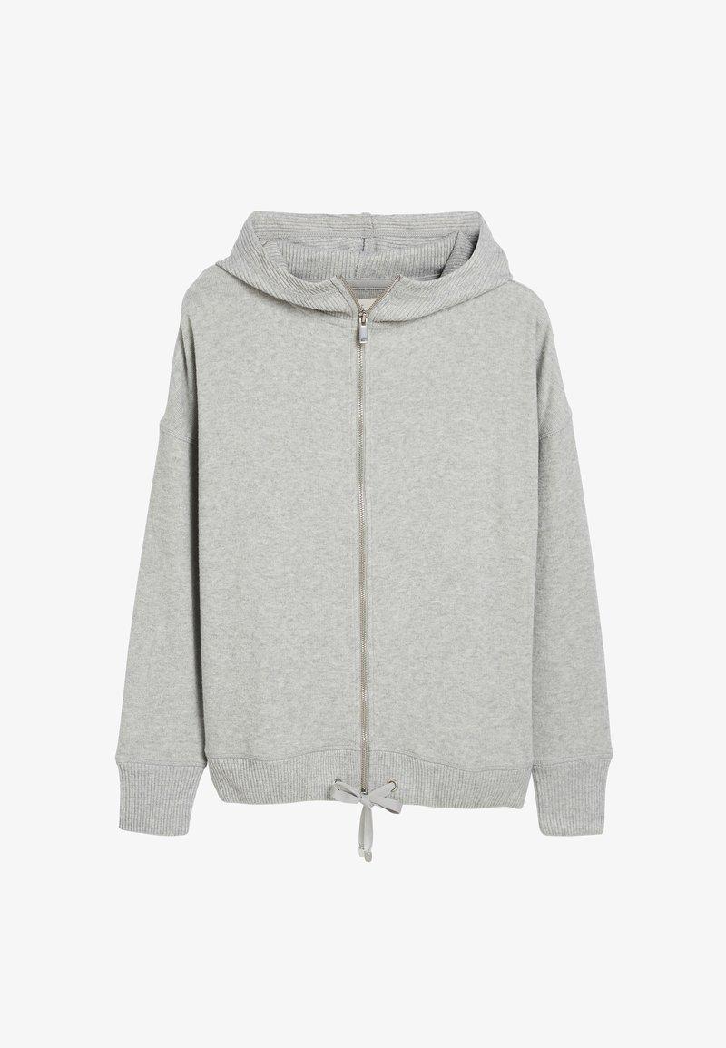 Next - SUPERSOFT - Zip-up hoodie - grey