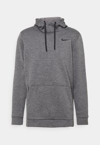 Nike Performance - Sweat à capuche - charcoal heather/black - 3