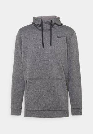 Hoodie - charcoal heather/black