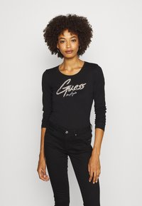 Guess - CAMILLA  - Long sleeved top - jet black - 0