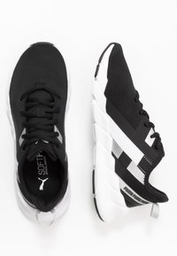 Puma - WEAVE XT TWIN - Treningssko - black/silver - 1