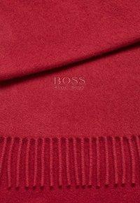 BOSS - T-SCOTTAS 02 - Scarf - dark red - 3