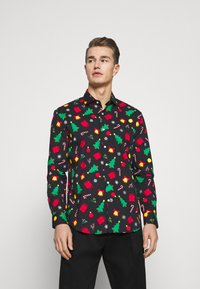 OppoSuits - CHRISTMAS ICONS - Shirt - black - 0